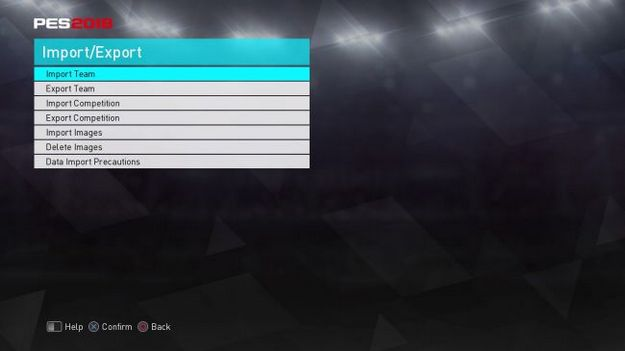 pes option file